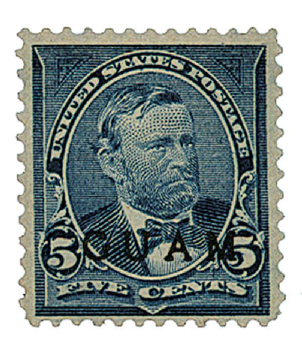 1899 5c Blue