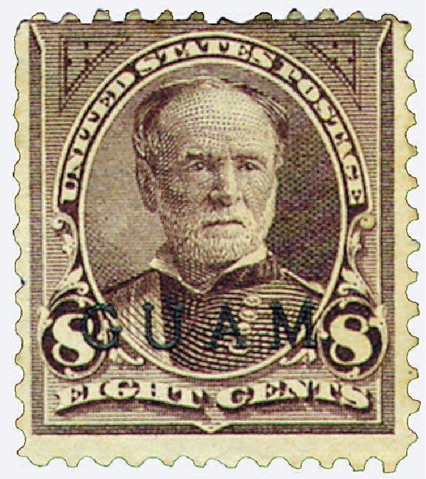 1899 8c Violet Brown