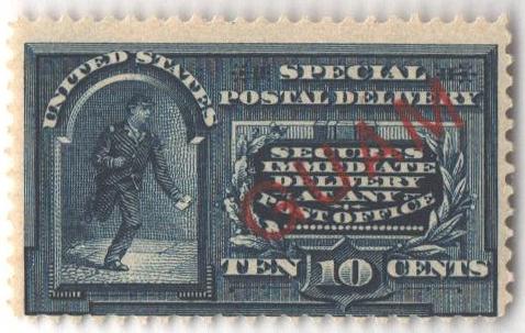 1899 10c blue