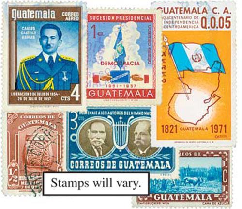 Guatemala, 50v