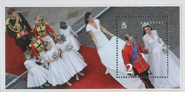 2011 Gurensey Will & Kate Wedding s/s