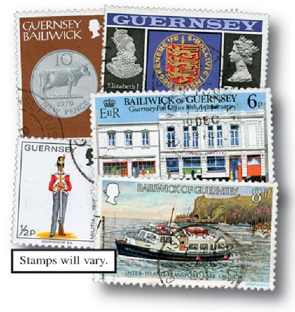 Guernsey, 25v