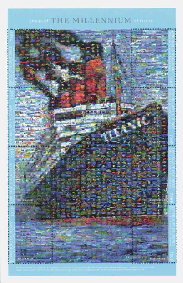 2000 Guinea Titanic Photomosaic Sheet