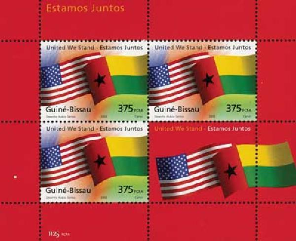 2002 Guinea-Bissau 4v Mint