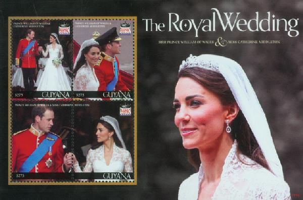 2011 Guyana Photos of Will and Kate