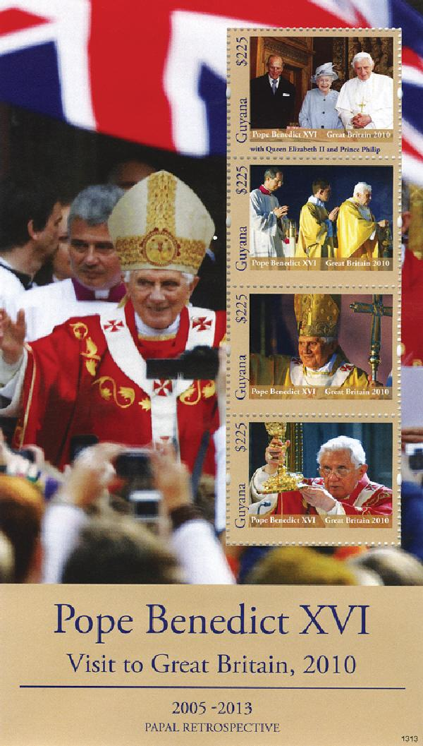 2013 Guyana Pope Visit to Gr Britain