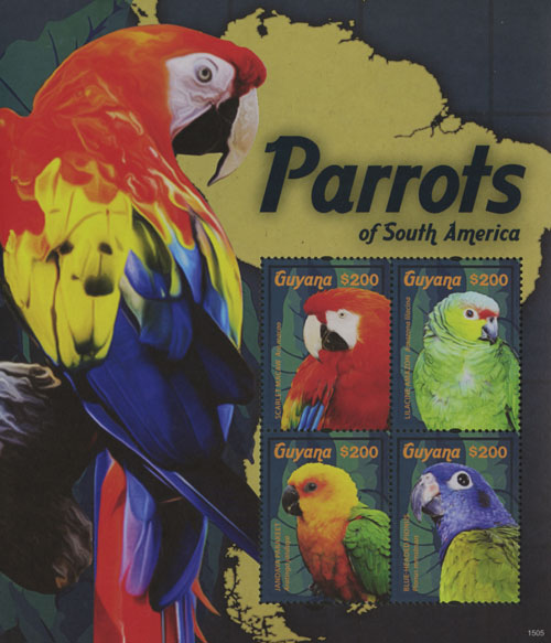2015 $200 Parrots of South America