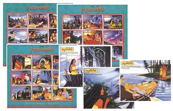 Guyana 1995 'Pocahontas'