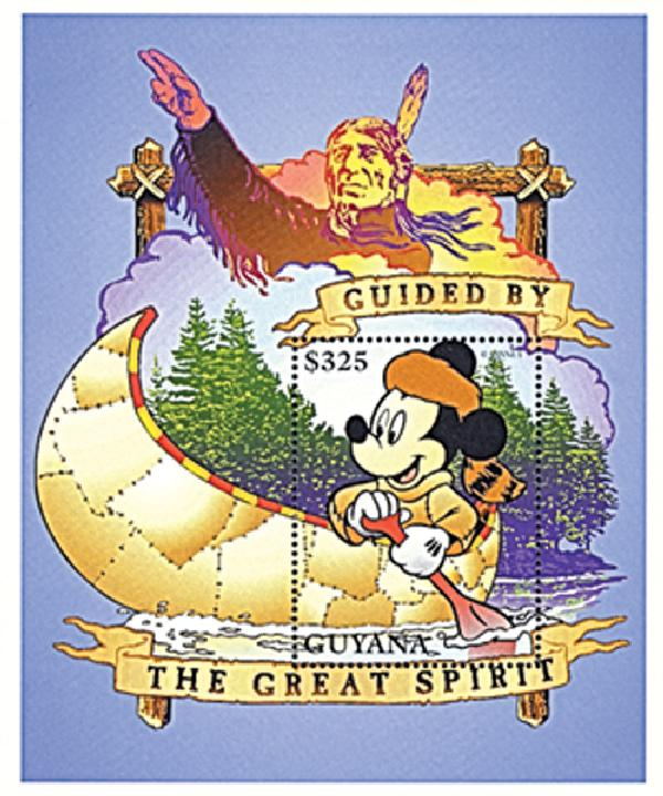 Guyana 1996 Guided by Great Spirit, S/S