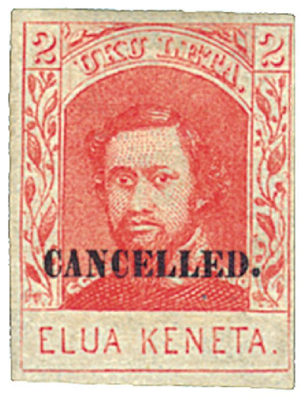 1869 2c Red, SPECIMEN