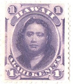 1871 1c mauve,perf 12,wove paper