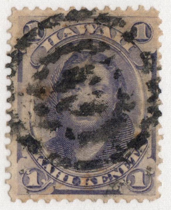 1878 1c violet