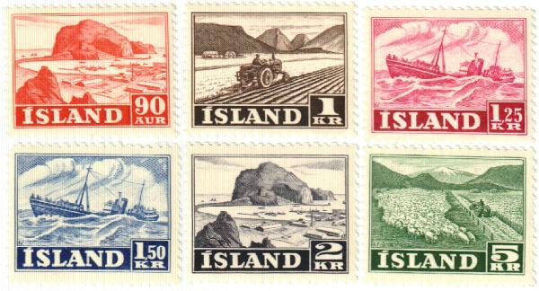 1950-54 Iceland
