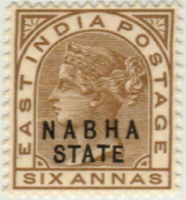 1889 India Nabha