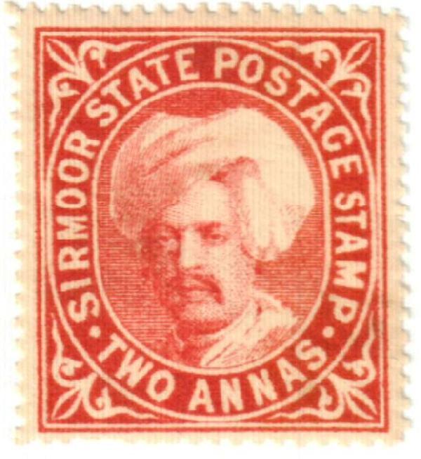1885 India Sirmoor