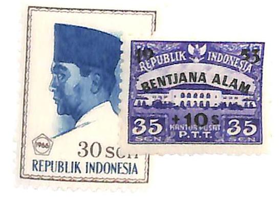 1953-66 Indonesia