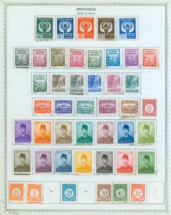 1949-92 Indonesia