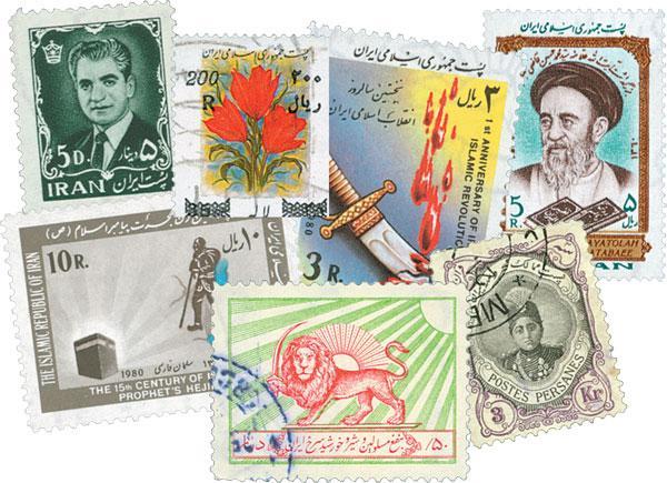 Iran, set of 100