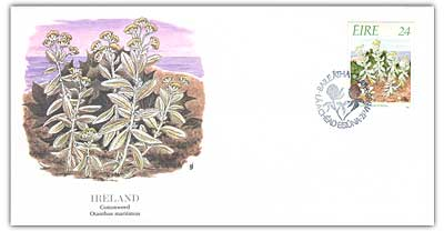 1988 Ireland 24p Cottonweed First Day Cover