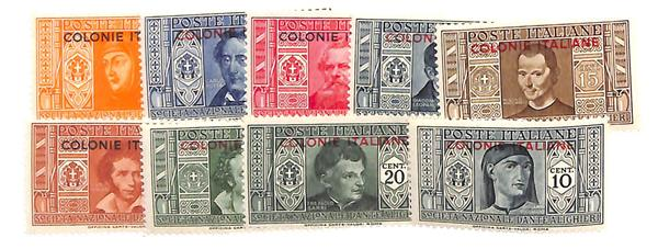 1932 Italian Colonies