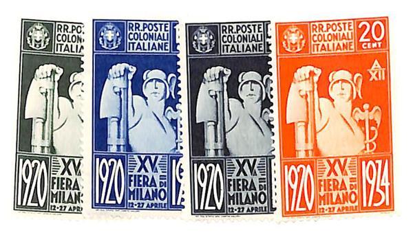 1934 Italian Colonies