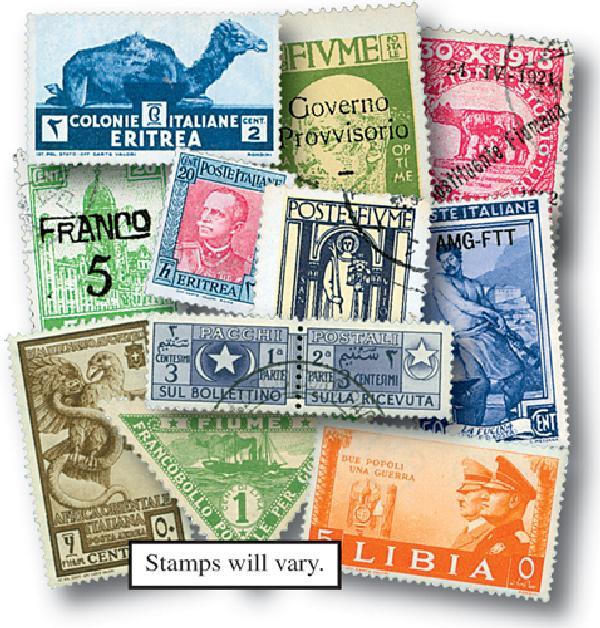Italian Colonies, 500v