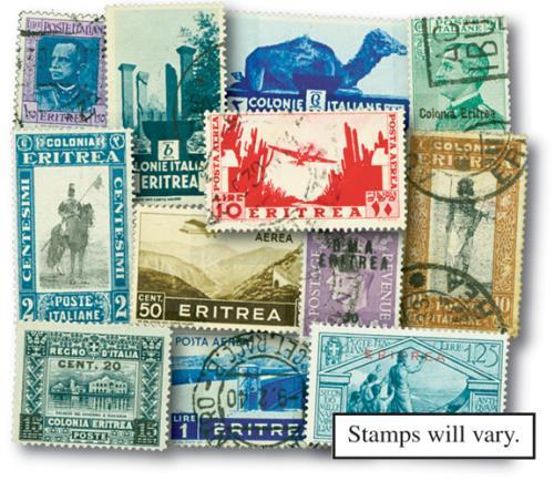 Italian Eritrea, 100v