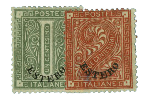 1874 Italian Offices Abroad