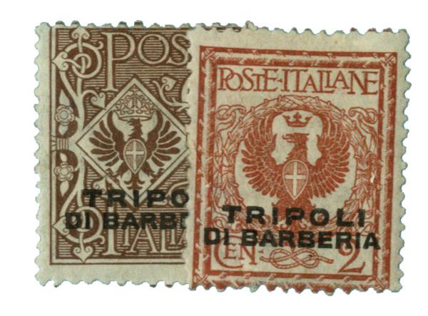 1909 Italian Offices - Africa