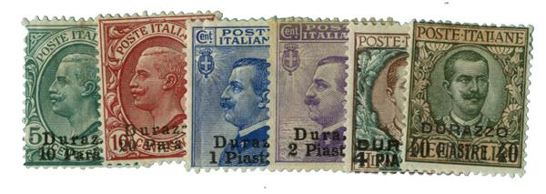 1909-11 Italian Offices - Durazzo