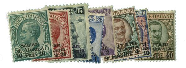 1909-11 Italian Offices - Scutari