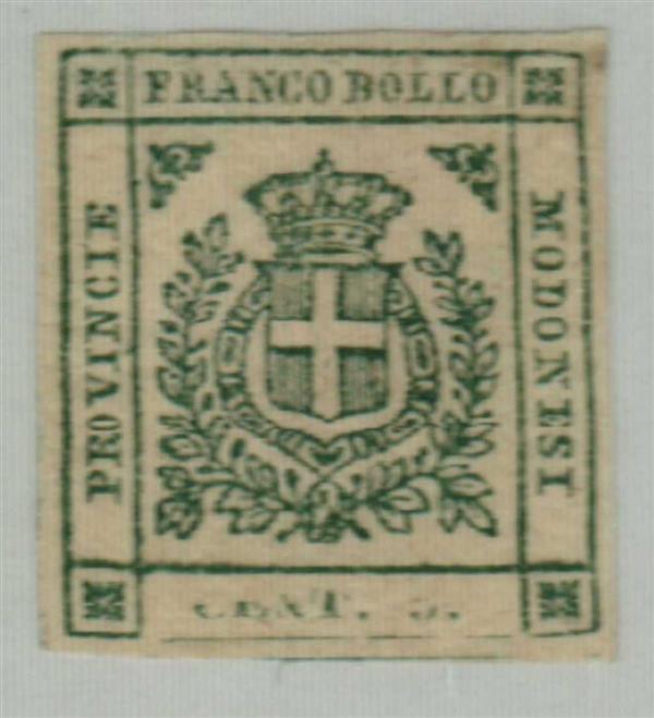 1859 Italian States - Modena