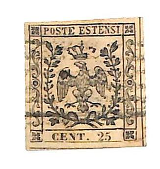 1852 Italian States - Modena