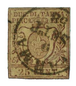 1857 Italian States - Parma