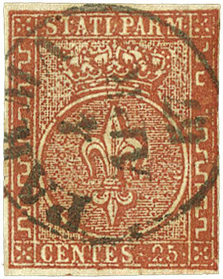 1855 Italian States - Parma