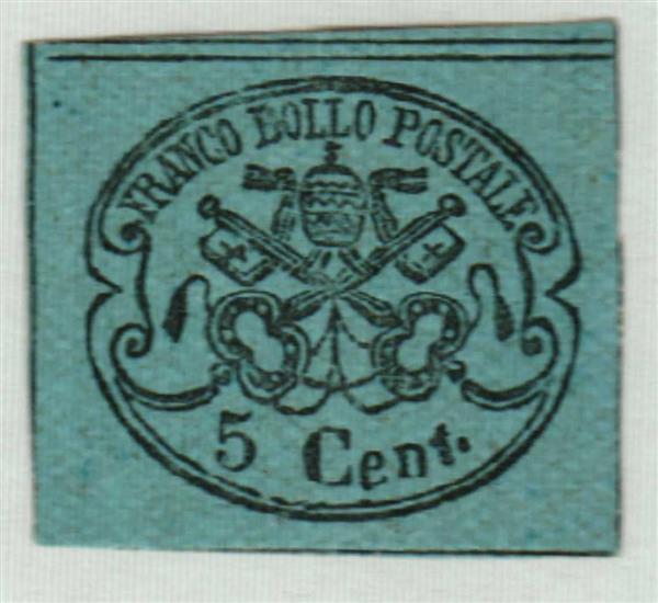 1867 Italian States - Roman States