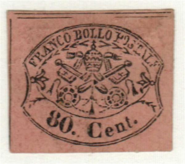 1867 Italian States-Roman States