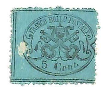 1868 Italian States - Parma