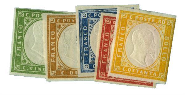 1862-63 Italian States - Sardinia