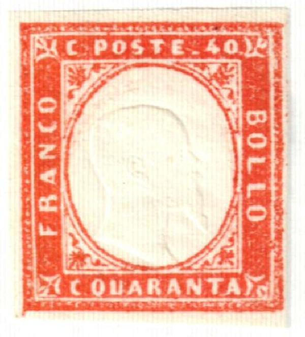 1863 Italian States - Sardinia
