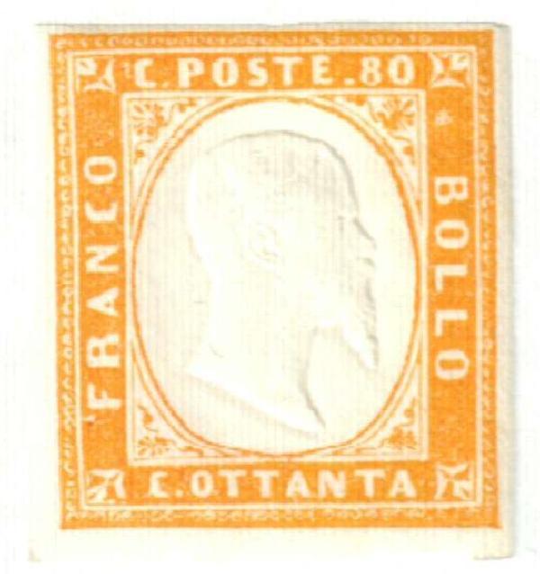 1862 Italian States - Sardinia