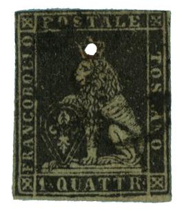 1852 Italian States - Tuscany
