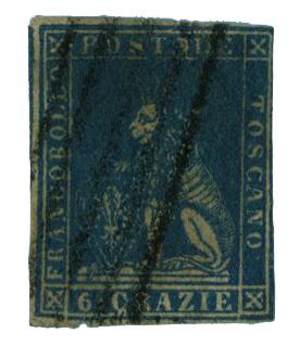 1857 Italian States - Tuscany