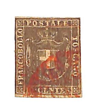 1860 Italian States - Tuscany