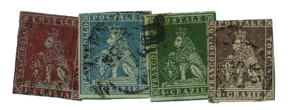 1851 Italian States - Tuscany