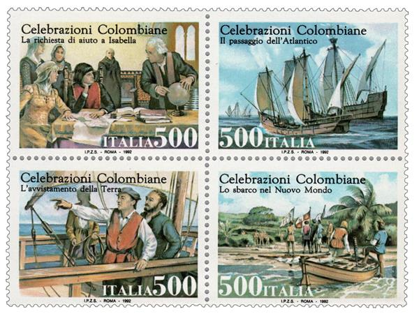 1992 Italy - Discovery of America 500th Anniversary