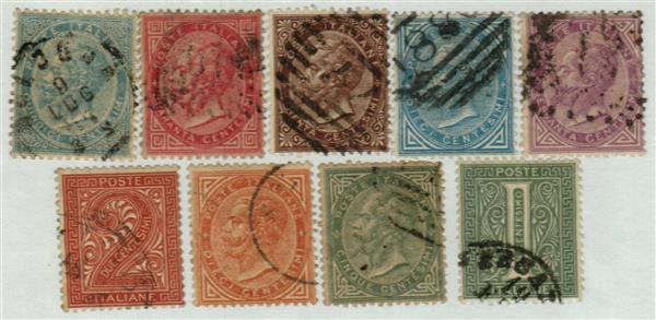 1863-77 Italy