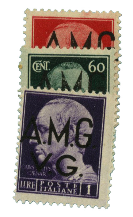 1945 Italy - Allied Military Gov.