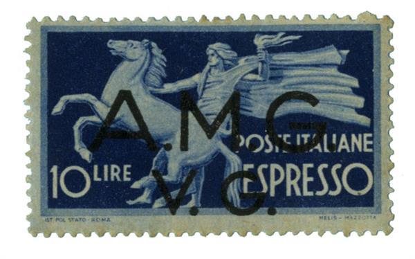 1946 Italy - Allied Military Gov.
