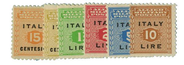 1943 Italy - Allied Military Gov.
